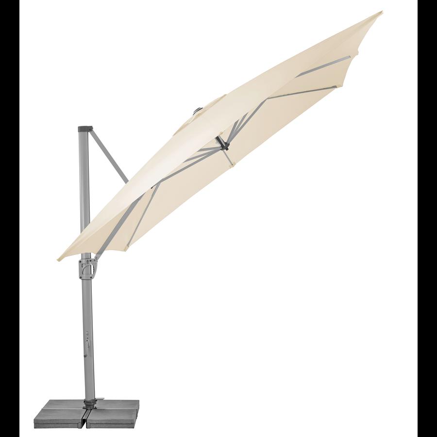 Zweefparasol - SunFlex - 300x300 cm - Ecru - SunComfort by Glatz-3