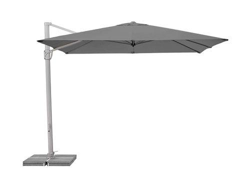 Zweefparasol - SunFlex - 300x300 cm - Grijs - SunComfort by Glatz