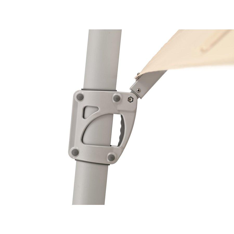 Zweefparasol - SunFlex - 300x300 cm - Rood - SunComfort by Glatz-5