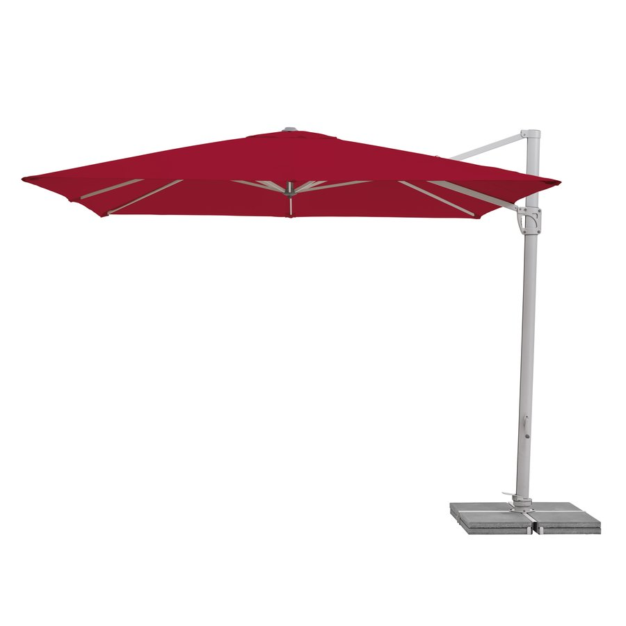 Zweefparasol - SunFlex - 300x300 cm - Rood - SunComfort by Glatz-2