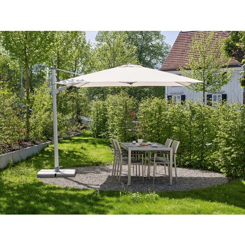 SunComfort by Glatz Zweefparasol - SunFlex - Ø 350 cm - Ecru - SunComfort by Glatz