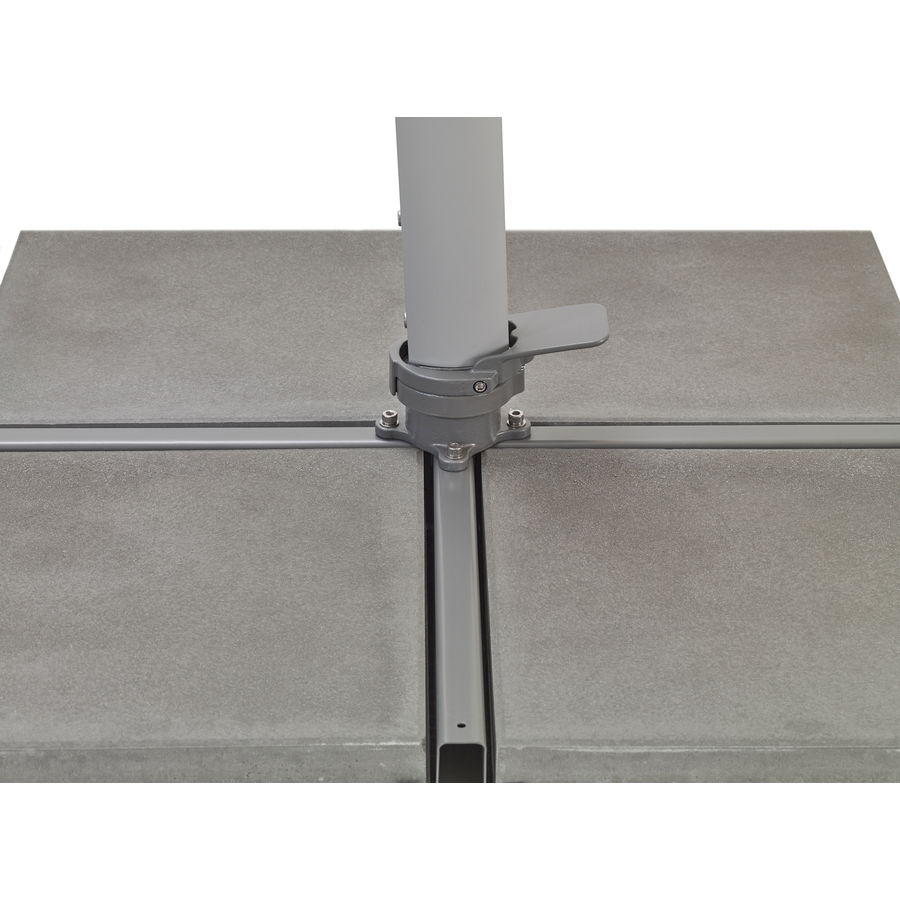 Zweefparasol - SunFlex - Ø 350 cm - Grijs - SunComfort by Glatz-6
