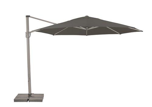 Zweefparasol - SunFlex - Ø 350 cm - Grijs - SunComfort by Glatz