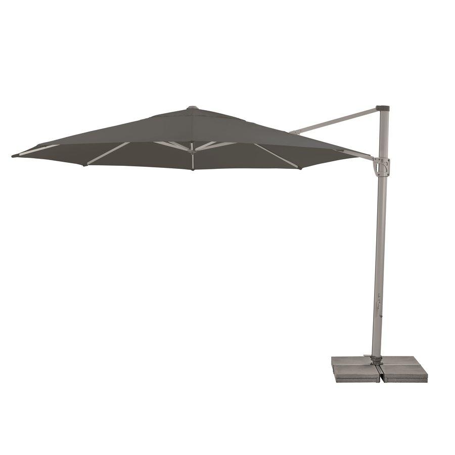 Zweefparasol - SunFlex - Ø 350 cm - Grijs - SunComfort by Glatz-2