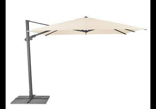 Zweefparasol - VarioFlex - 300x300 cm - Ecru - SunComfort by Glatz