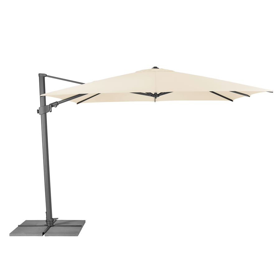Zweefparasol - VarioFlex - 300x300 cm - Ecru - SunComfort by Glatz-1