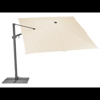 thumb-Zweefparasol - VarioFlex - 300x300 cm - Ecru - SunComfort by Glatz-4
