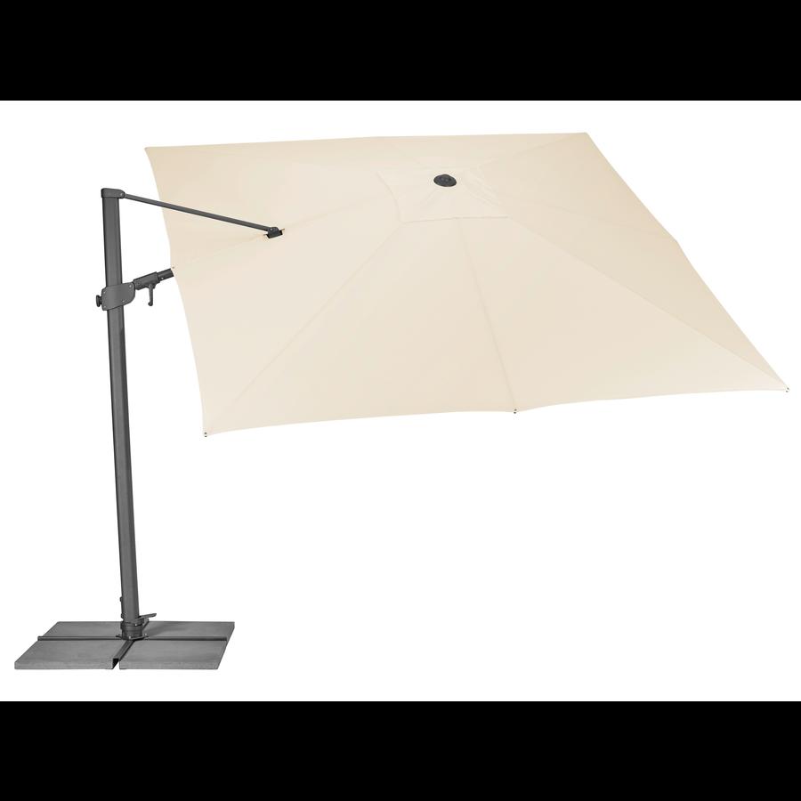 Zweefparasol - VarioFlex - 300x300 cm - Ecru - SunComfort by Glatz-4