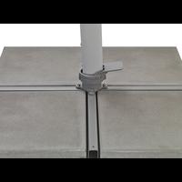 thumb-Zweefparasol - VarioFlex LED - 300x300 cm - Ecru - SunComfort by Glatz-9