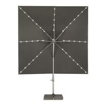 thumb-Zweefparasol - VarioFlex LED - 300x300 cm - Ecru - SunComfort by Glatz-4