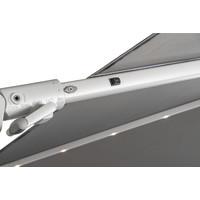 thumb-Zweefparasol - VarioFlex LED - 300x300 cm - Grijs - SunComfort by Glatz-4