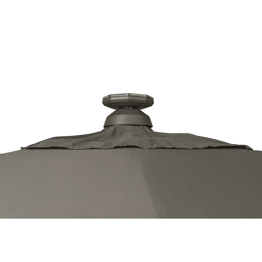 Zweefparasol - VarioFlex LED - 300x300 cm - Rood - SunComfort by Glatz-8