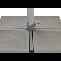 thumb-Zweefparasol - VarioFlex LED - 300x300 cm - Rood - SunComfort by Glatz-10