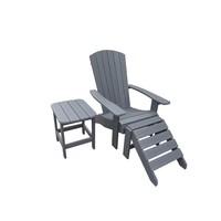 thumb-Adirondack Set - Grijs - Kunststof Polywood - Garden Interiors-1