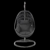 thumb-Hangstoel - Sturdy - Zwart - Lesli Living-1