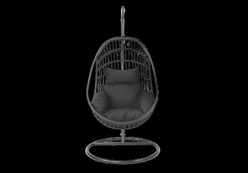 Hangstoel - Sturdy - Zwart - Lesli Living