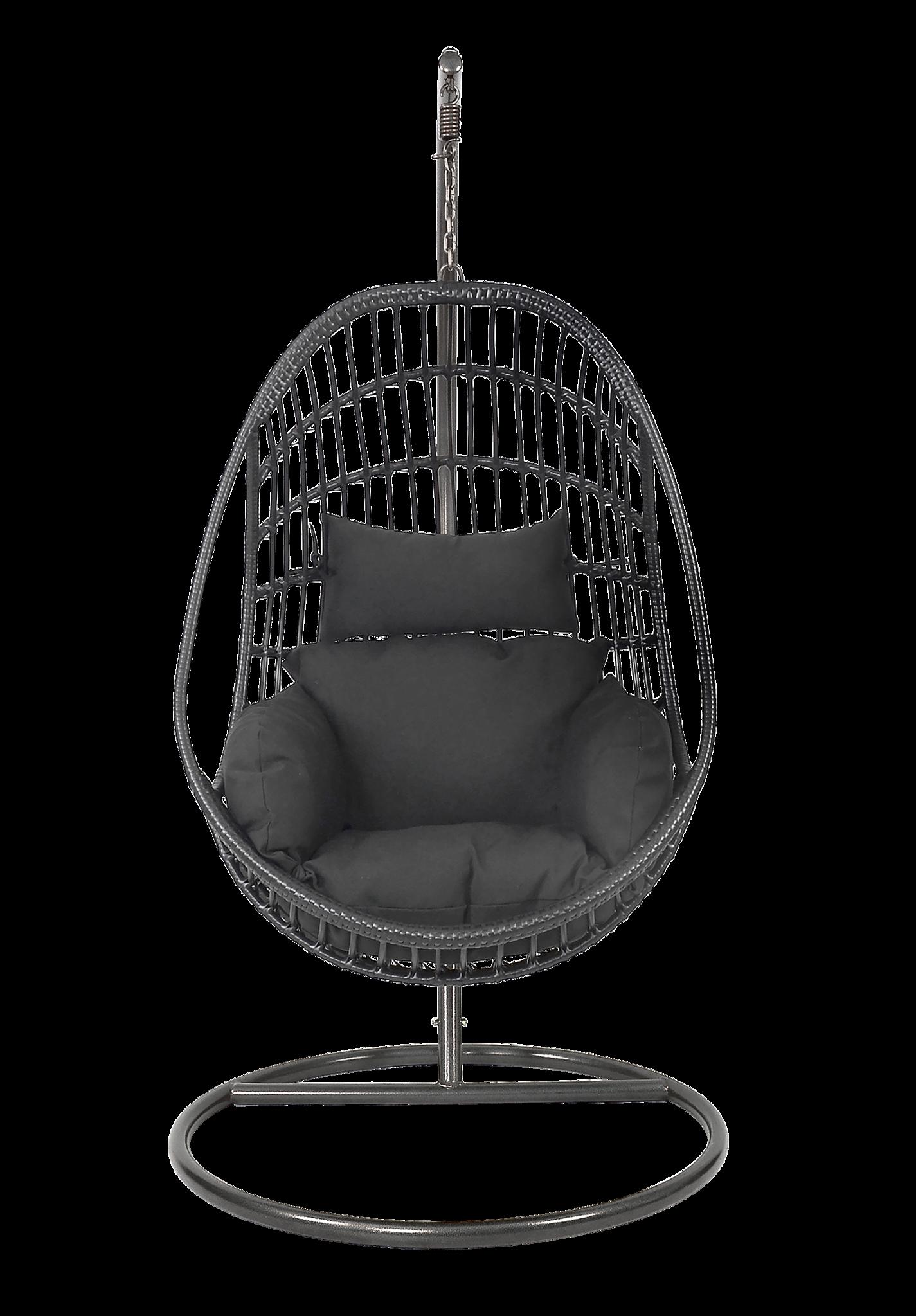Hangstoel Voor 2 Personen.1 Persoons Hangstoel Sturdy Zwart Lesli Living