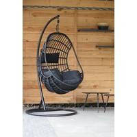 thumb-Hangstoel - Sturdy - Zwart - Lesli Living-3