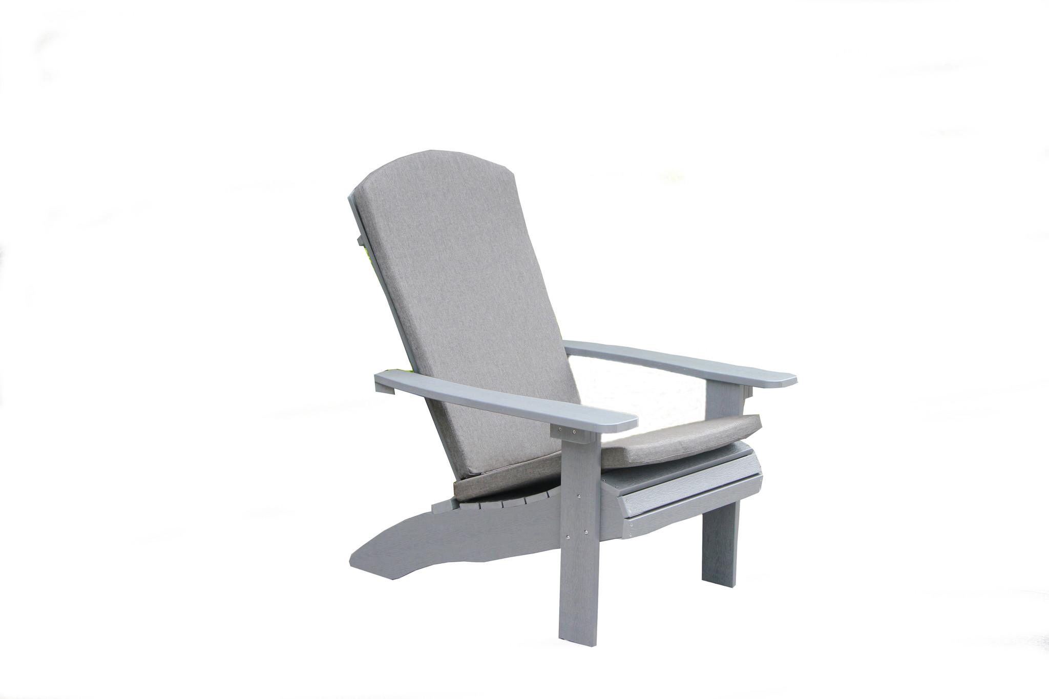 Adirondack Chair Kussens.Garden Interiors Adirondack Kussen Grijs Garden Interiors