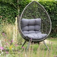thumb-Relax Stoel - Chill - Grijs - Lesli Living-3