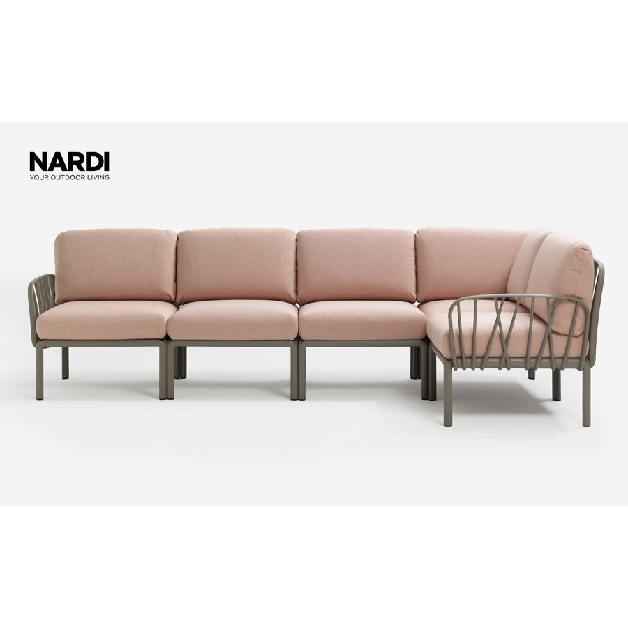 Komodo Loungeset - Roze / Taupe - Modulaire - Nardi-2