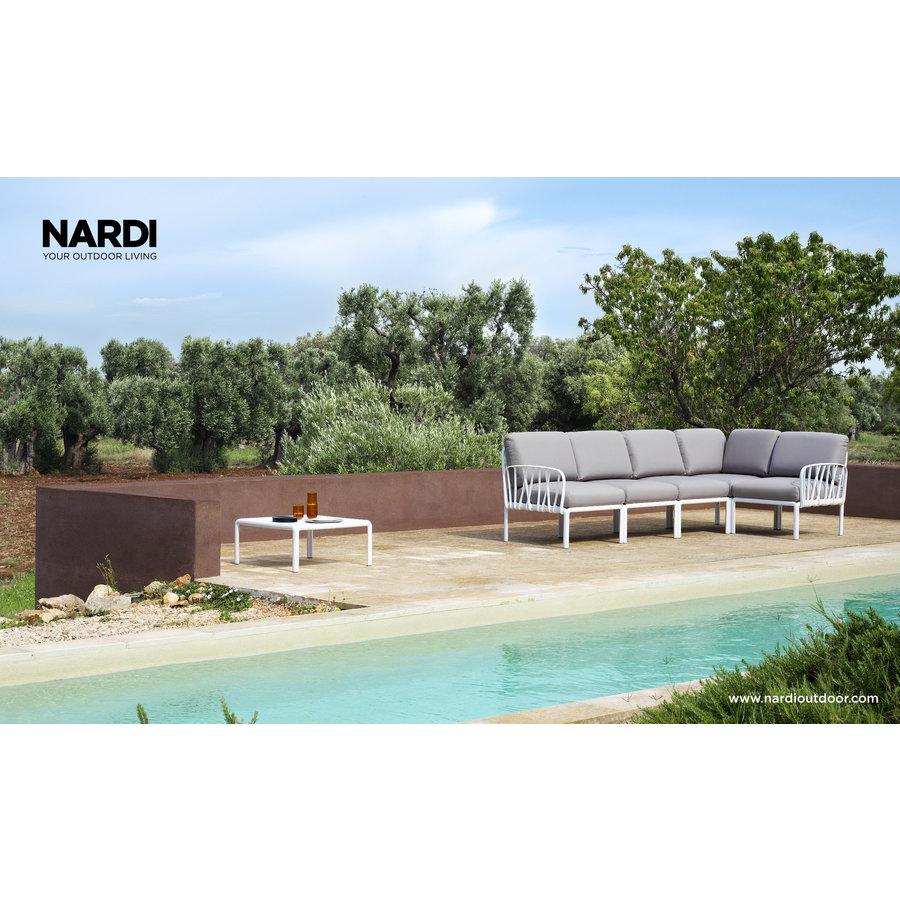 Komodo Loungeset - Grijs / Wit - Modulaire - Nardi-4