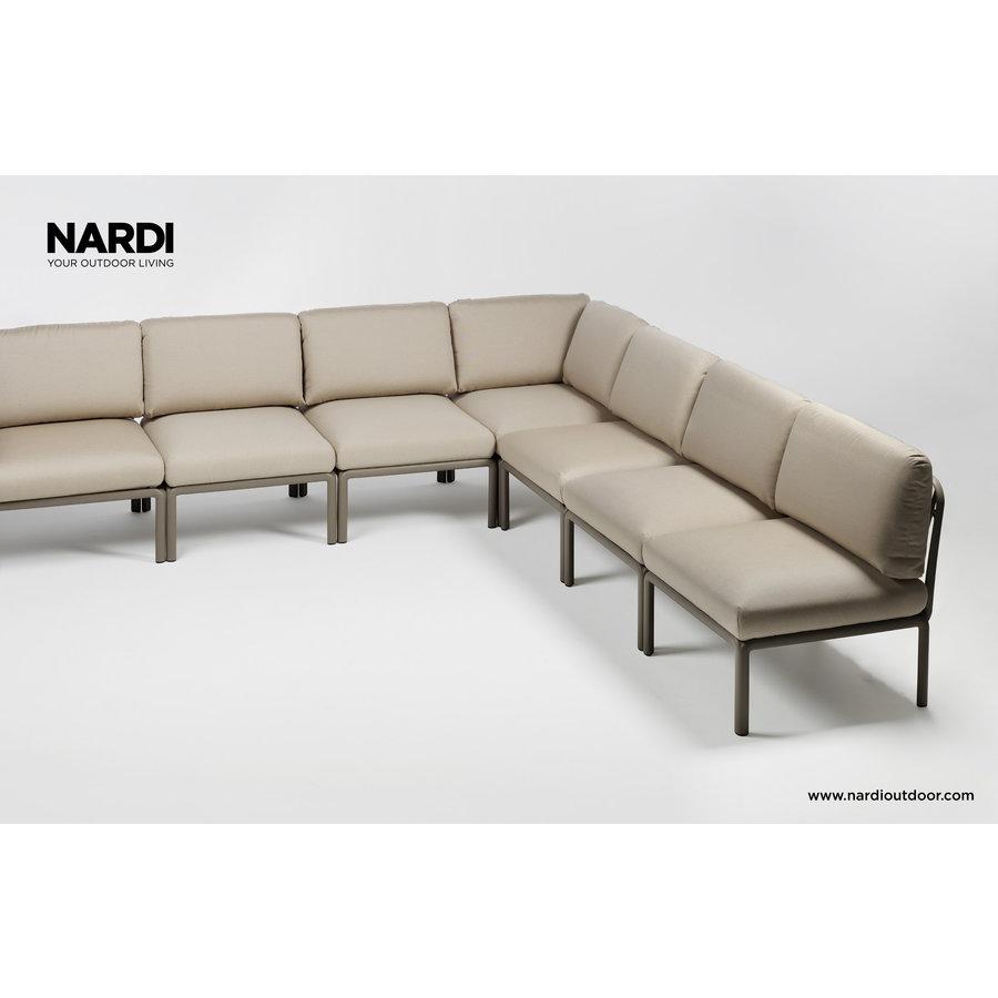Komodo Loungeset - Beige / Taupe - Sunbrella - Modulaire - Nardi-2