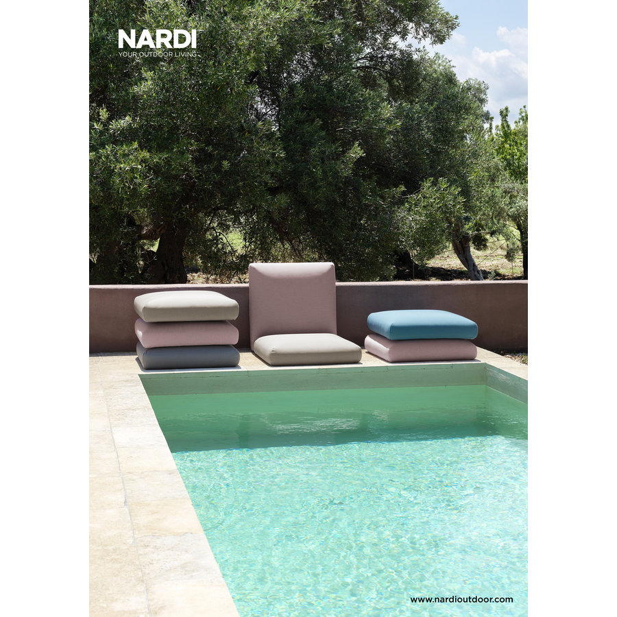 Komodo Loungeset - Beige / Wit - Sunbrella - Modulaire - Nardi-6