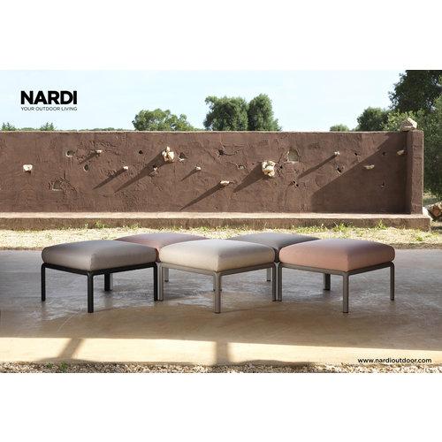 Nardi Komodo Loungeset - Beige / Wit - Sunbrella - Modulaire - Nardi
