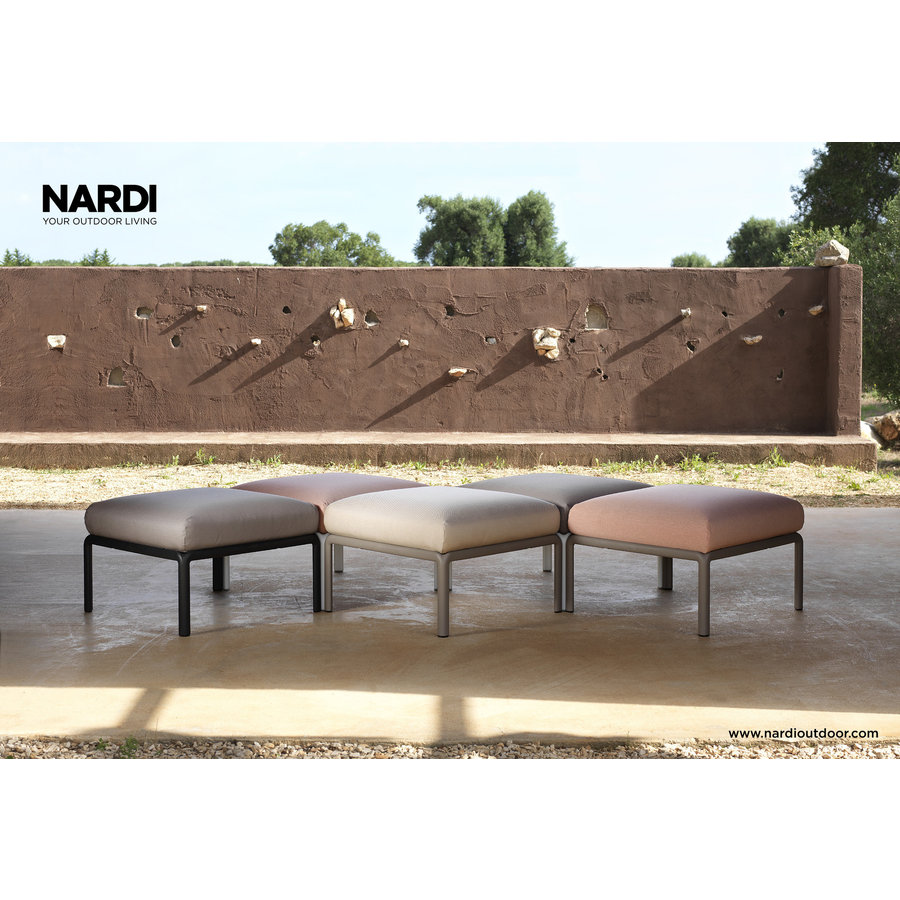 Komodo Loungeset - Beige / Wit - Sunbrella - Modulaire - Nardi-7
