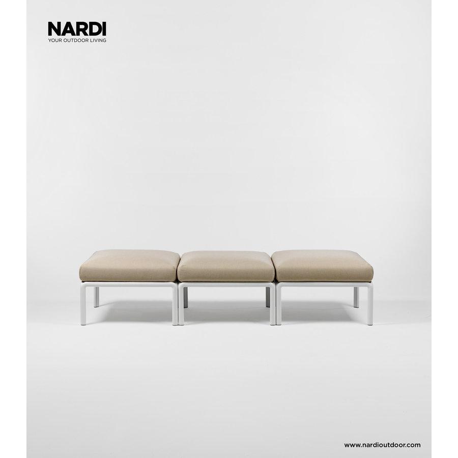 Komodo Loungeset - Beige / Wit - Sunbrella - Modulaire - Nardi-3