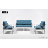 thumb-Komodo Loungeset - Adriatisch Blauw / Wit - Sunbrella - Modulaire - Nardi-4