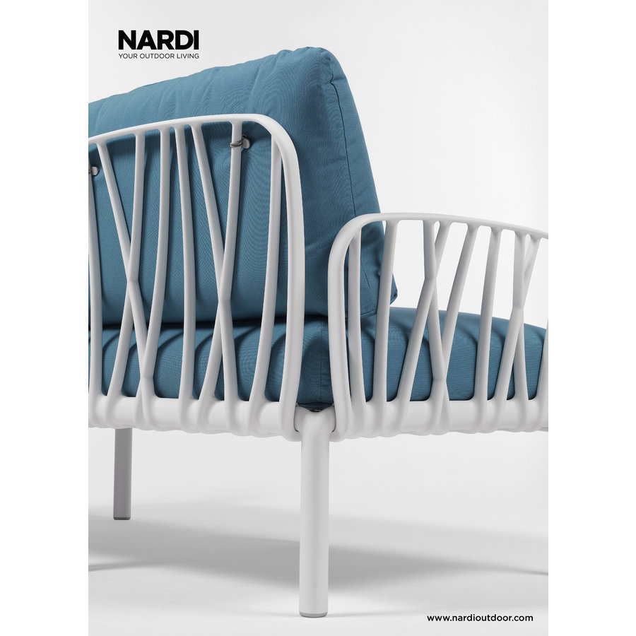 Komodo Loungeset - Blauw / Wit - Sunbrella - Modulaire - Nardi-5