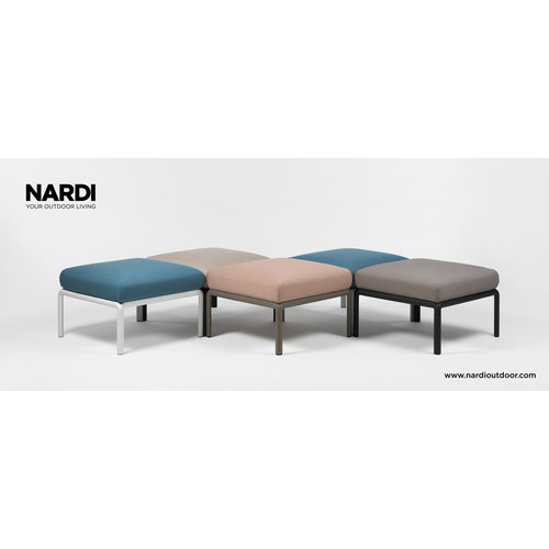 Nardi Komodo Loungeset - Adriatisch Blauw / Wit - Sunbrella - Modulaire - Nardi