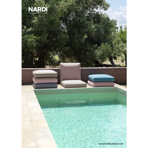 Nardi Komodo Loungeset - Roze / Antraciet - Modulaire - Nardi