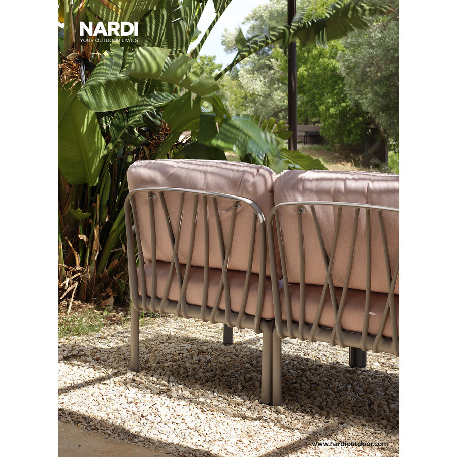 Komodo Loungeset - Roze / Antraciet - Modulaire - Nardi-5