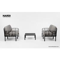 thumb-Komodo Loungeset - Grijs / Antraciet - Modulaire - Nardi-3