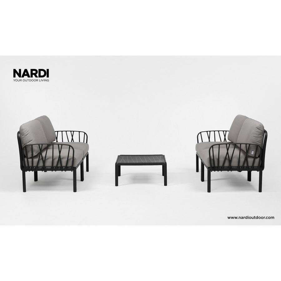 Komodo Loungeset - Grijs / Antraciet - Modulaire - Nardi-3