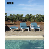 thumb-Komodo Loungeset - Adriatisch Blauw / Antraciet - Sunbrella - Modulaire - Nardi-5