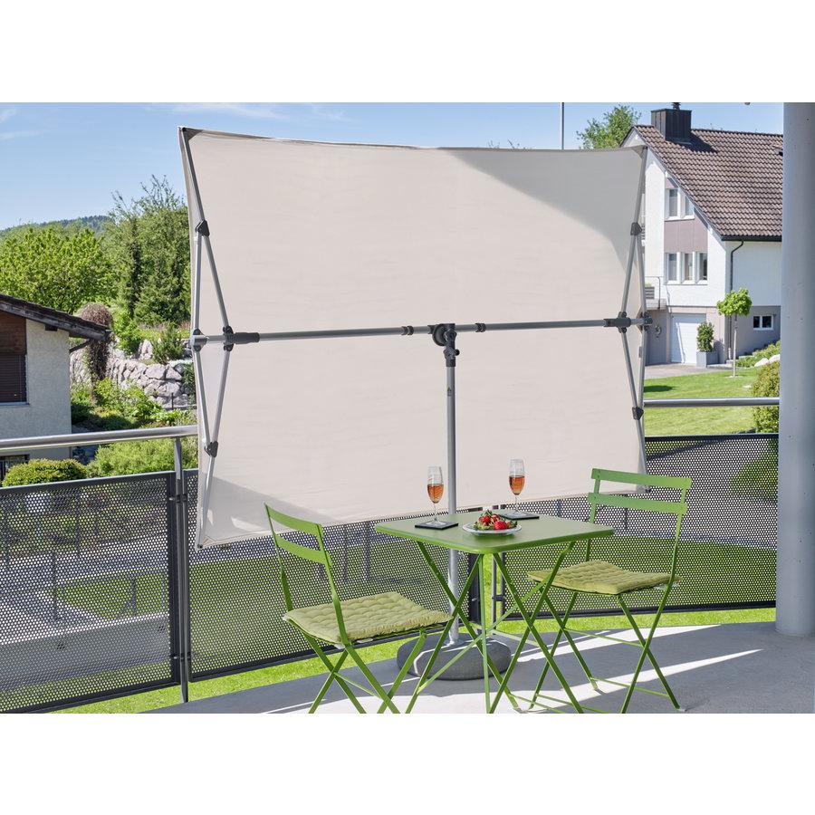 Parasol Flex Roof - 210x150 cm - Off Grey - SunComfort by Glatz-4
