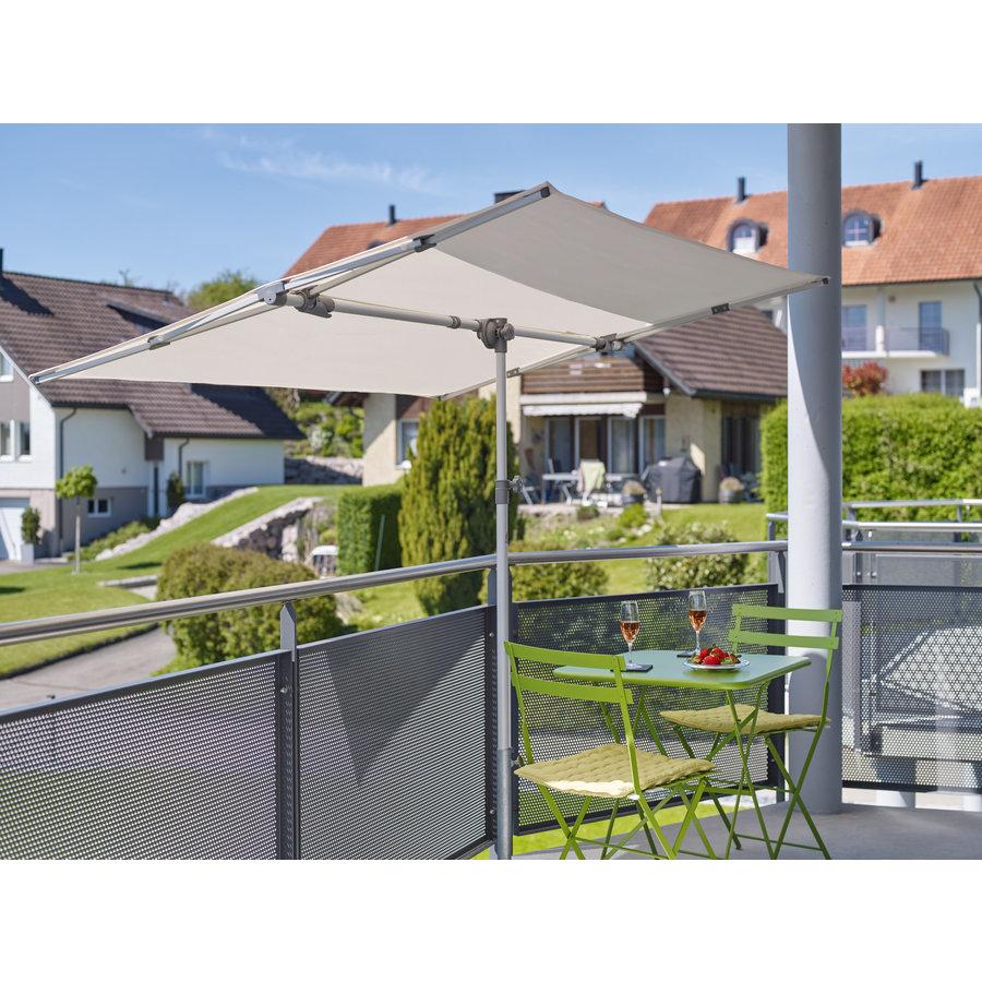 Parasol Flex Roof - 210x150 cm - Off Grey - SunComfort by Glatz-5