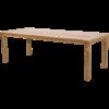 Lesli Living  Tuintafel - Gerecycled Teak - 240x100x76 cm - Lesli Living