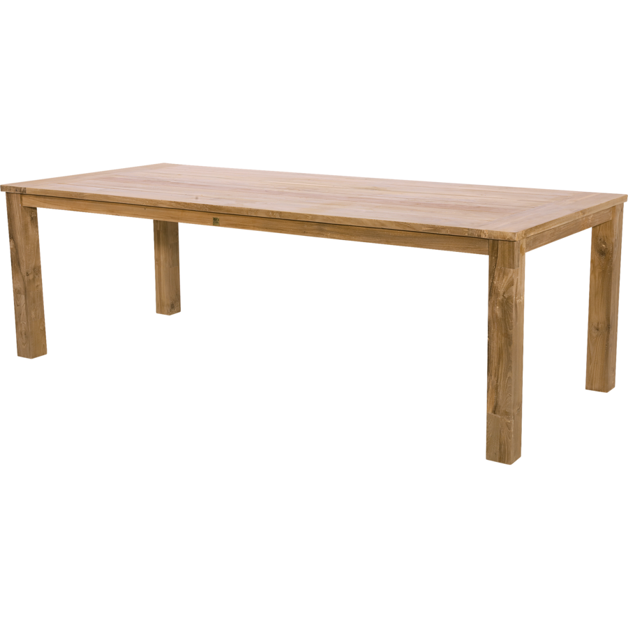 Tuintafel - Gerecycled Teak - 240x100x76 cm - Lesli Living-1