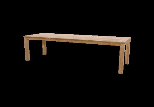 Tuintafel - Gerecycled Teak - 300x100x76 cm - Lesli Living