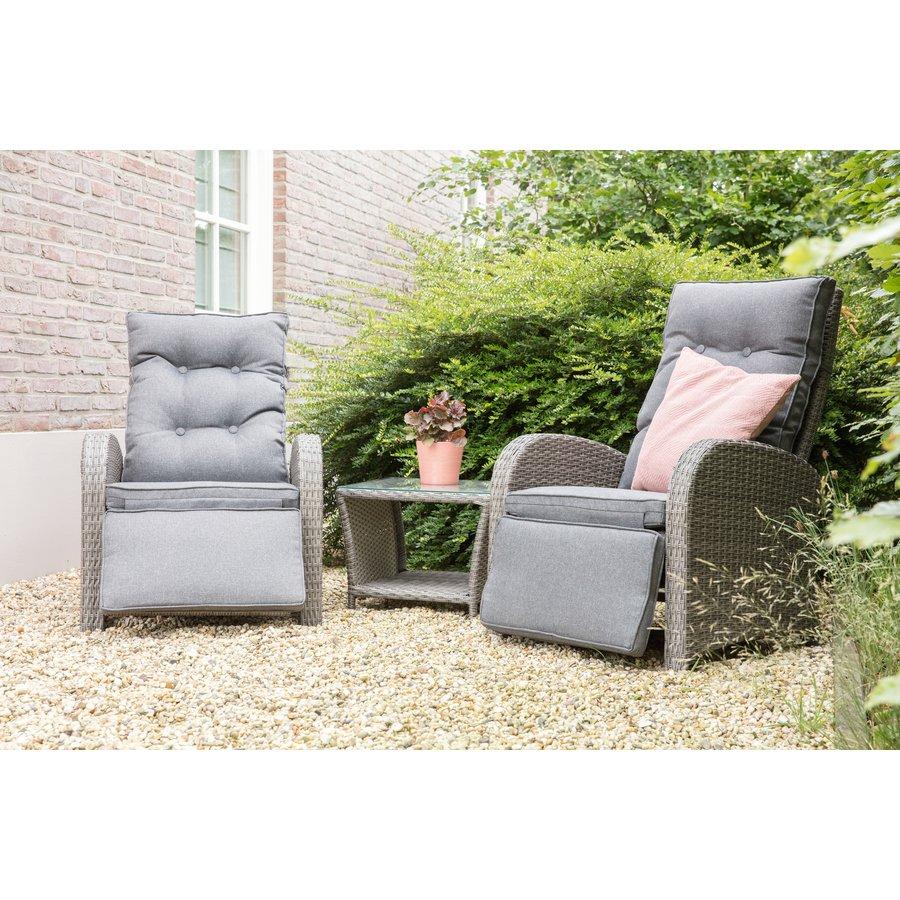 Lounge Tuinstoelen - Duoset Melia - Wicker - Lesli Living-3