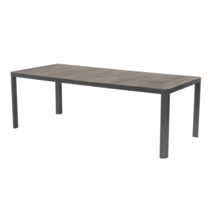 Lesli Living  Tuintafel - Castilla - Negro - 220x100 cm - Keramiek - Lesli Living