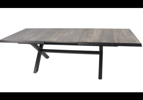 Tuintafel - Castilla - Negro - Uitschuifbaar 205/265 cm - Lesli Living
