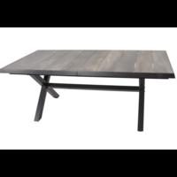 thumb-Tuintafel - Castilla - Negro - Uitschuifbaar 205/265 cm - Lesli Living-2