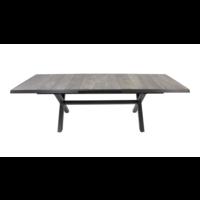thumb-Tuintafel - Castilla - Negro - Uitschuifbaar 205/265 cm - Lesli Living-10