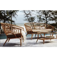 thumb-Stoel-Bank Loungeset - Lenco - Bamboo Look - Wicker - Garden Interiors-3
